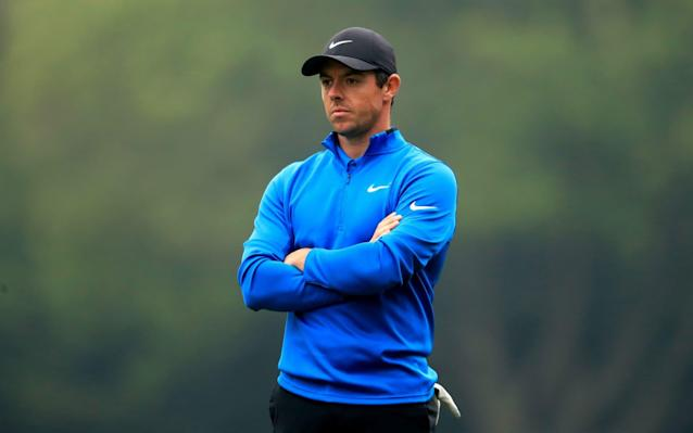 Rory McIlroy will feature in the event on Sunday - PA