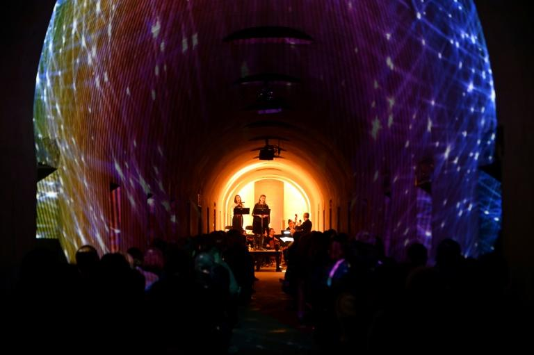 "After debuting his ""Crypt Sessions"" series -- an intimate show held in the crypt of Harlem's Church of the Intercession -- in 2015, Ousley began curating shows in the National Historic Landmark cemetery, using the 1850s-era catacombs as a venue"