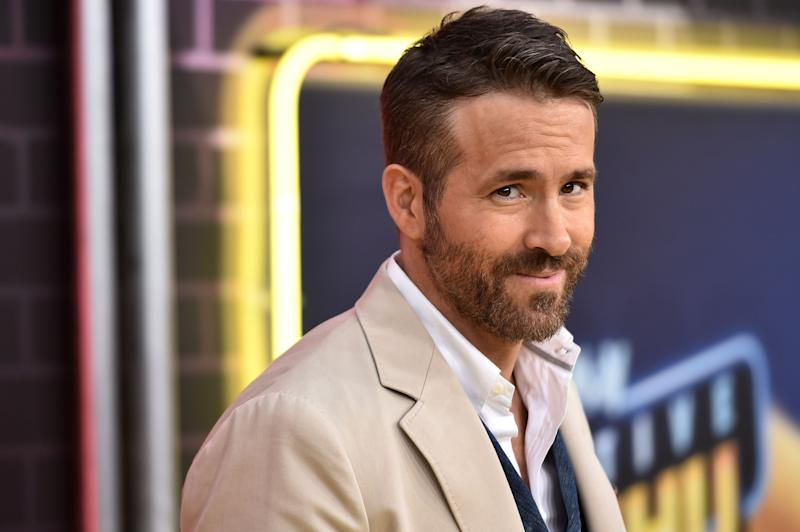 Ryan Reynolds on the red carpet