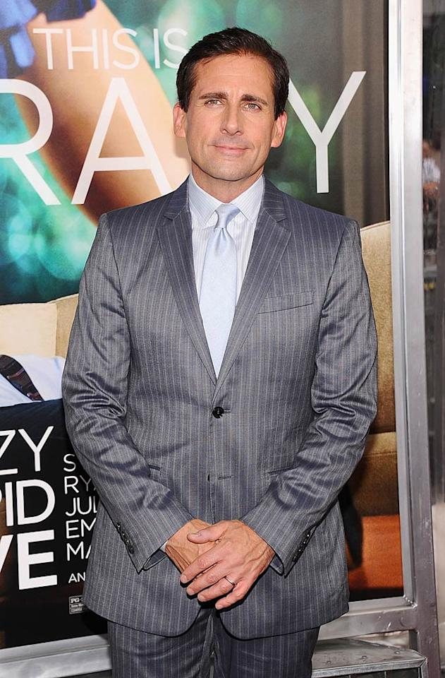 """Steve Carell turns 49. Jamie McCarthy/<a href=""""http://www.wireimage.com"""" target=""""new"""">WireImage.com</a> - July 19, 2011"""