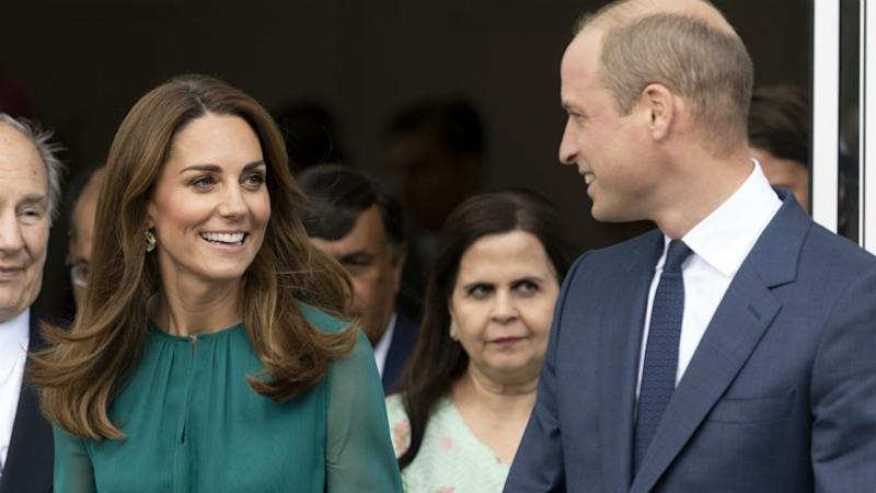 Kate Middleton and Prince William Step Out Together as Meghan Markle and Prince Harry Wrap Up Africa Tour