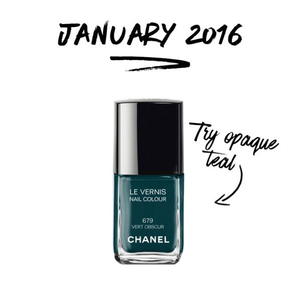 The Nail Colors To Try In 2016 (A New One For Each Month!)