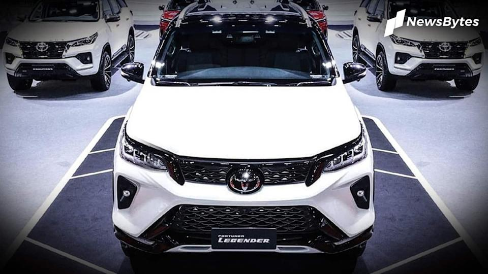 #NewsBytesExclusive: Toyota Fortuner (facelift) first look: Welcome changes inside-out
