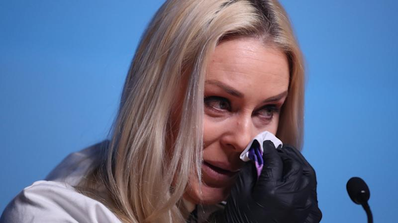 Olympic Skier Lindsey Vonn Gives Tearful Interview About Late Grandfather