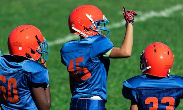 "<span class=""element-image__caption"">A Pennsylvania woman faces jail time for her role in threatening youth football league officials.</span> <span class=""element-image__credit"">Photograph: John Greim/LightRocket via Getty Images</span>"