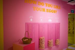 The playground's egg poll. Photo: Carolyn Teo/Coconuts