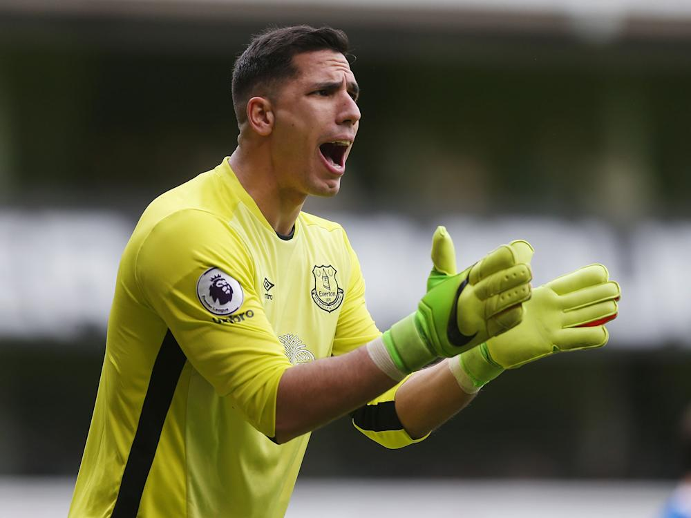 Since replacing Maarten Stekelenburg last Decemeber, Robles has kept nine clean sheets for Everton: Getty