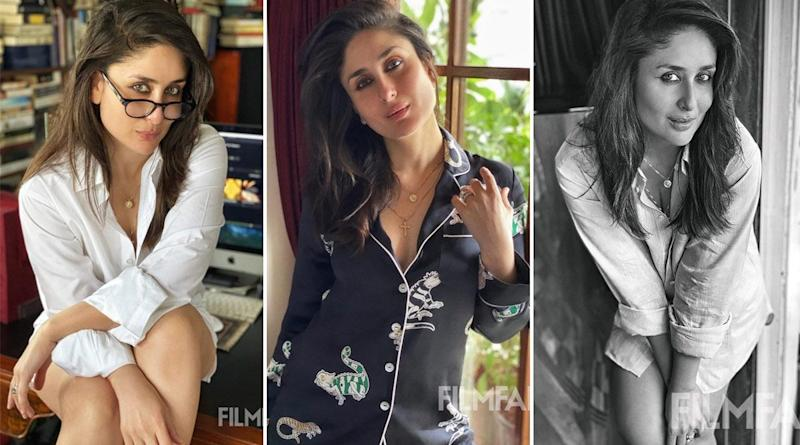 Kareena Kapoor Khan Turns Into a Sultry Goddess As She Poses for Filmfare's At-Home Photoshoot (View Pics)