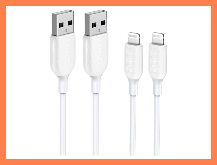 Save $9—Anker PowerLine III Lightning Cable (two-pack). (Photo: Anker)