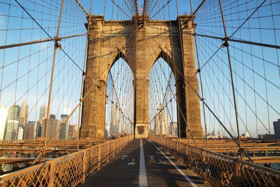 Brooklyn Bridge was opened in 1883, connecting the two cities of Brooklyn and New York (iStock)