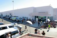 Huge amounts of journalists are staked out to record the vote count in various areas, such as in Las Vegas