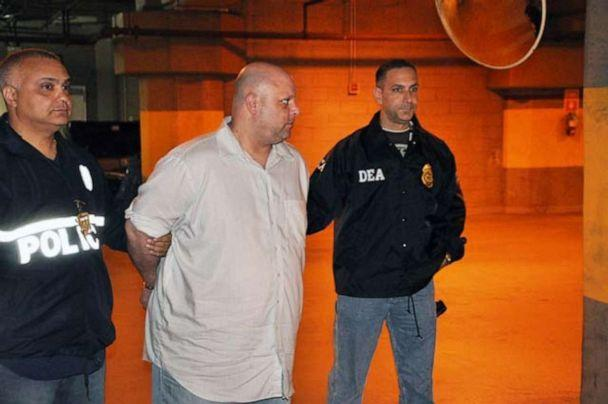 Carmine Vitolo is seen here during his 2014 arrest. (U.S. Dept. of Justice)