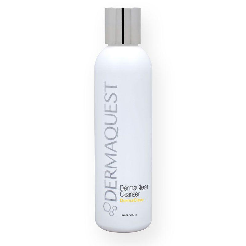 "<p><a rel=""nofollow"" href=""https://www.salonskincare.co.uk/dermaquest-sheerzinc-spf30-tintedsunkissed-2oz-52254"">Shop now</a> <br></p><p>""I recommend a gentle wash, preferably mildly acidic, matching the skin's natural pH, the DermaQuest DermaClear Cleanser is a great option. Salicylic acid works to both breakdown the build-up of skin and oil in blocked follicles and soothe skin. When skin is rinsed it should feel calm and hydrated not tight, this skin friendly approach stops the over production of oil to compensate.""<br><strong>- Dr Justine Hextall, The Harley Medical Group <a rel=""nofollow"" href=""http://www.justinehextall.co.uk/about/"">Dermatologist</a></strong></p>"