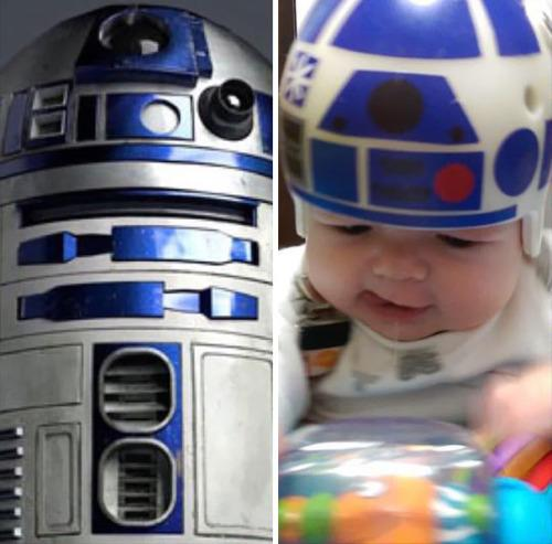 """<p>This one reminds us of what Luke says near the end of the first """"Star Wars"""" movie: """"That little 'droid and I have been through a lot together."""" (Photos: 20th Century Fox, Mike Sweeney)</p>"""