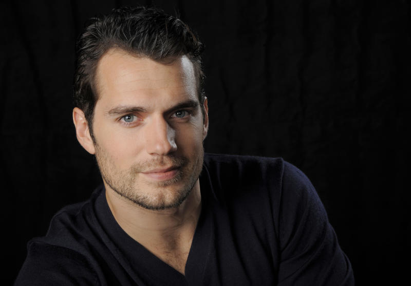"This May 31, 2013 photo shows Henry Cavill, star of the film ""Man of Steel,"" poses for a portrait in Burbank, Calif. ""Man of Steel"" centers on an adult Clark Kent _ or Kal-El, as he's known back on his home planet _ at the inception of his superheroic identity. It's a matter-of-fact account of how a much more hesitant Clark rises up and responds when earth is threatened by Kryptonian outcasts. (Photo by Chris Pizzello/Invision/AP)"