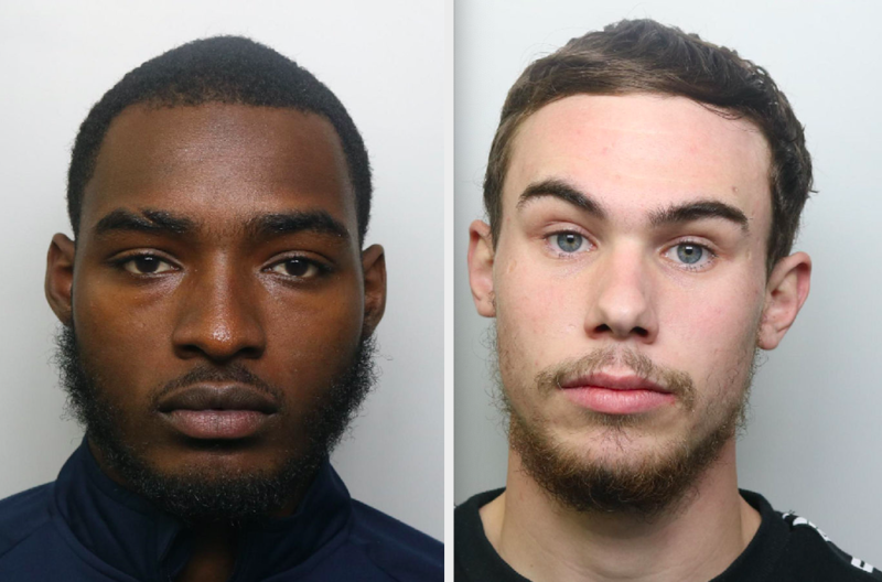 Jonathan Camille (left) was convicted of manslaughter and Alex Lanning (right) was convicted of murder. (PA)