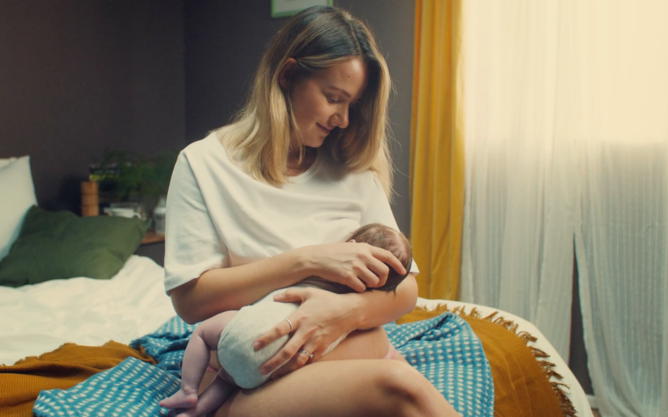 "Tommee Tippee startete seine neue Kampagne ""The Boob Life"" letzte Woche. Foto: Tommee Tippee"