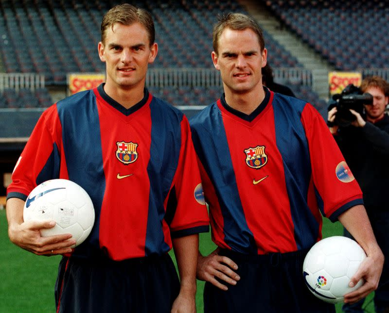 On this day: Born May 15, 1970: Frank and Ronald de Boer, footballers