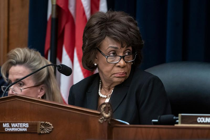 House Financial Services Committee Chair Maxine Waters, D-Calif. (AP Photo/J. Scott Applewhite)