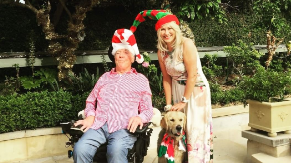 KAK admits the couple have started a new Christmas tradition at their place after John's accident. Photo: Instagram/kerriannekennerley