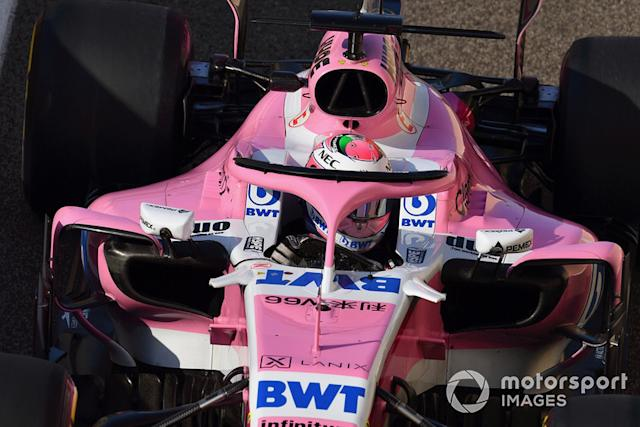 """Sergio Perez, Racing Point Force India <span class=""""copyright"""">Jerry Andre / Motorsport Images</span>"""