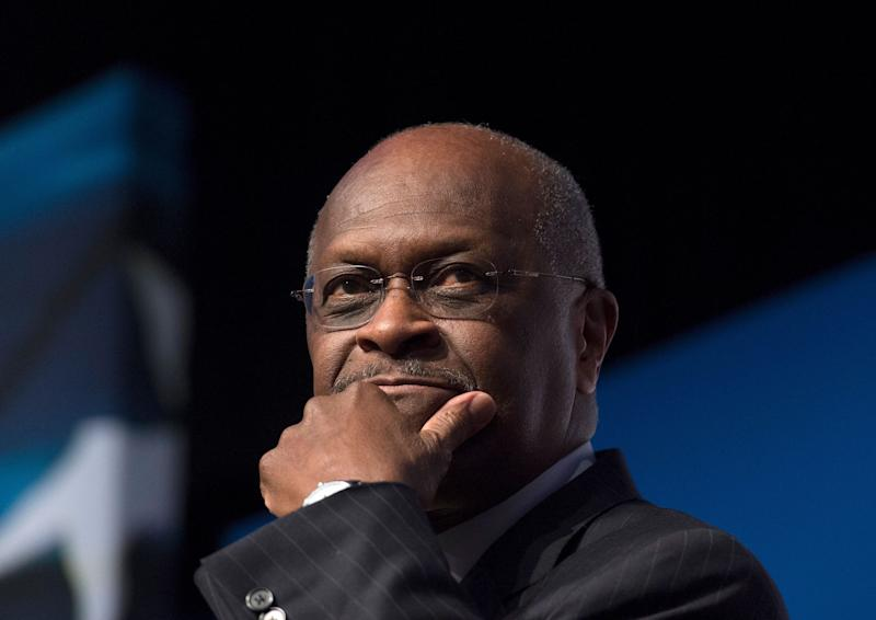 Herman Cain, pictured in 2014, rose to political prominence as a member of the Tea Party movement and ran for the Republican presidential nomination in 2012. (Photo: ASSOCIATED PRESS)