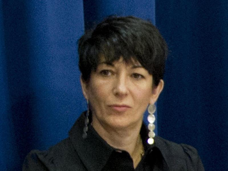 British socialite Ghislaine Maxwell, Founder of the TerraMar Project, attending a press conference on the issue of oceans in the Sustainable Development Goals, at the UN headquarters in New York: (EPA - UN photo)