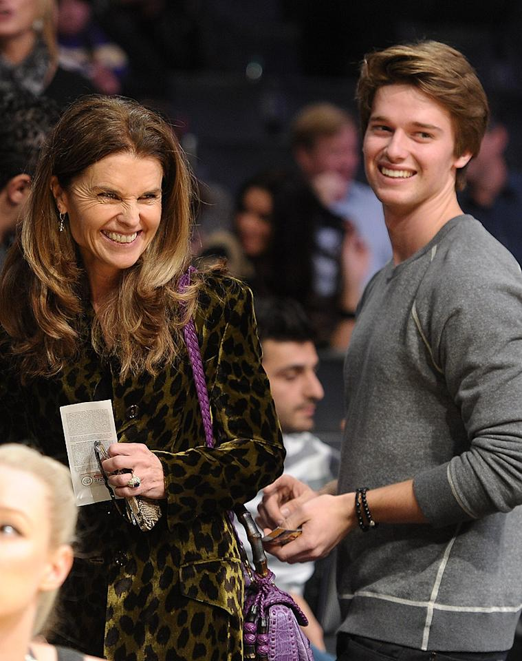 <b>Maria Shriver's son Patrick: 9 pounds, 8 ounces</b><br> The Catholic Kennedy clan that Maria Shriver hails from is known for having huge families. President John F. Kennedy and his brother Robert F. Kennedy were two of nine children, and RFK went on to have 11 children with his wife Ethel! So child-bearing was in the genes, but that probably didn't make things any easier when the former First Lady of California gave birth to her third child and first son with her husband Arnold Schwarzenegger in 1993: Patrick was a more-than-healthy 9 pounds, 8 ounces. Now 18, he made headlines in mid-March when he was hospitalized for a minor ski accident that required stitches.