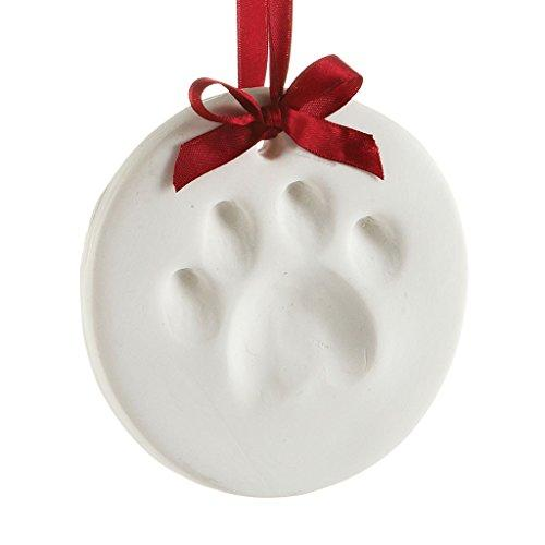 Pearhead Pet Pawprint Hanging DIY Keepsake Ornament, Dog or Cat, Pet Owner Holiday Christmas Gift, White (Amazon / Amazon)