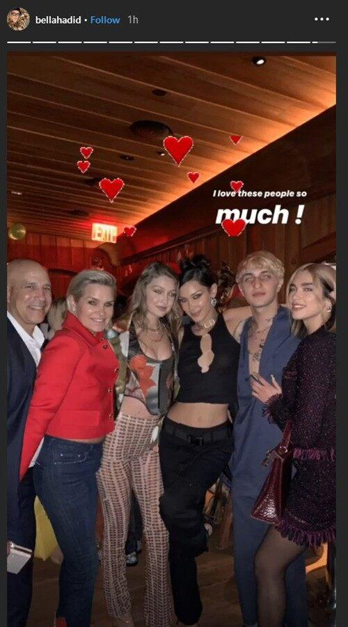 Bella Hadid's birthday party