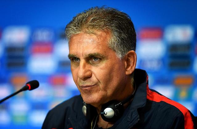 Iran coach Carlos Queiroz will lead the team in the 2018 World Cup campaign (AFP Photo/Behrouz Mehri)