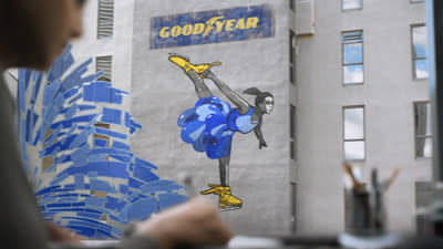 """As an evolution of Goodyear's More Driven campaign, """"Breakout"""" debuts Feb. 16, 2020, during the FOX broadcast of the DAYTONA 500. This new commercial underscores Goodyear's more than 120-year commitment to the discovery, growth and possibility that is fueled by mobility."""