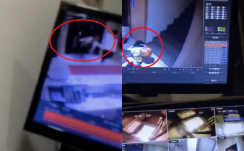 Xiao has shared the security footage taken from Qian's residence in 2019