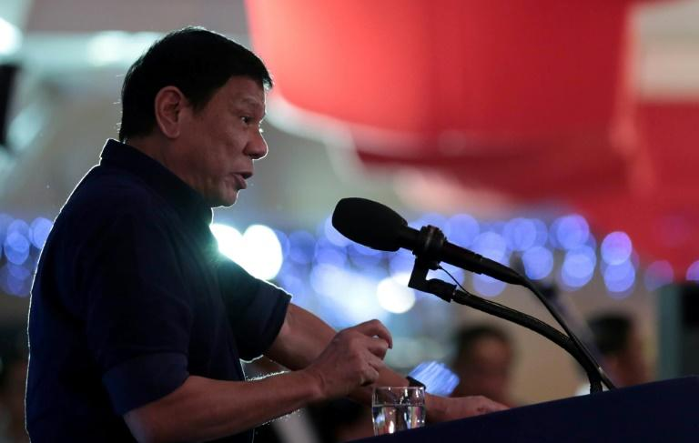 Philippine President Rodrigo Duterte has reinforced his image as a maverick outsider focused on a brutal anti-crime war instead of the opulence of the presidential palace