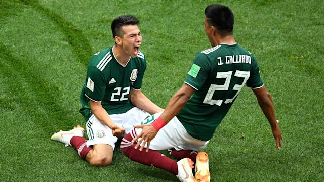 Hirving Lozano scored the only goal of the game as Mexico secured a thoroughly deserved win over a desperately poor Germany.
