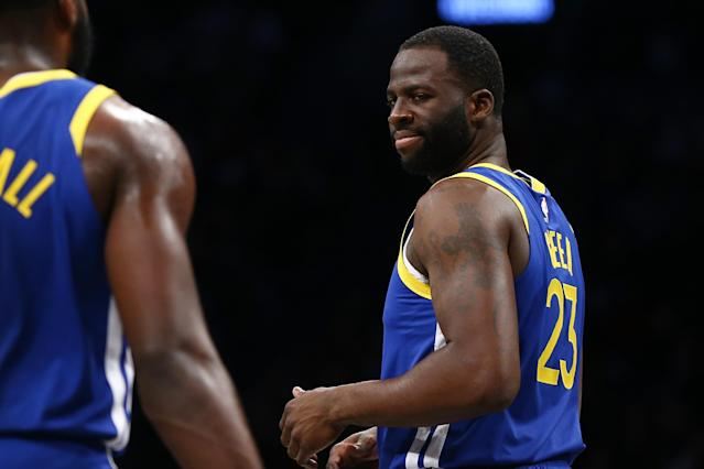 Draymond Green threatened to take Charles Barkley's job on Friday after his repeated criticism of the Warriors forward. (Mike Stobe/Getty Images)