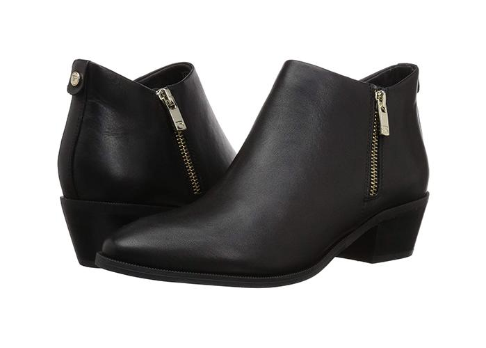 """""""I love this weatherproof bootie,"""" says Dr. Taryn Rose. """"I can wear these with jeans, leggings, or a skirt, so it is a real versatile shoe to have in my wardrobe. Featuring poron energy return foams and shock absorbing inserts, they're easy on your ankles and perfect for days when you're on your feet for hours."""" (Photo: Zappos) <a href=""""https://fave.co/2Mg9YwE""""><strong>SHOP IT: </strong></a><strong>$200, </strong><a href=""""https://fave.co/2Mg9YwE""""><strong>zappos.com</strong></a>"""