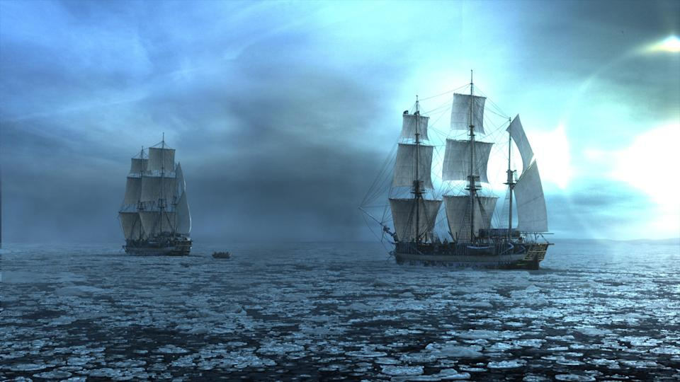 The Terror is the latest TV series from executive producer Ridley Scott