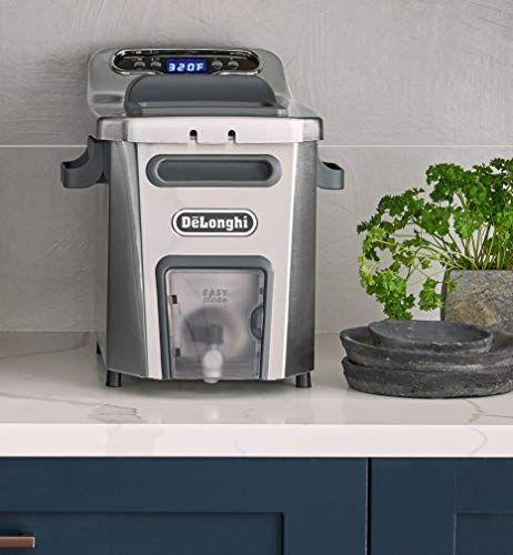 """<p><strong>De'Longhi</strong></p><p>amazon.com</p><p><strong>$159.95</strong></p><p><a href=""""https://www.amazon.com/dp/B01ISTT7EE?tag=syn-yahoo-20&ascsubtag=%5Bartid%7C1782.g.33667534%5Bsrc%7Cyahoo-us"""" rel=""""nofollow noopener"""" target=""""_blank"""" data-ylk=""""slk:BUY NOW"""" class=""""link rapid-noclick-resp"""">BUY NOW</a></p><p>As previously mentioned, cleaning a deep fryer is no walk in the park. However, this De'Longhi fryer can be broken down into small, dishwasher-safe parts for a very easy cleaning session.</p>"""