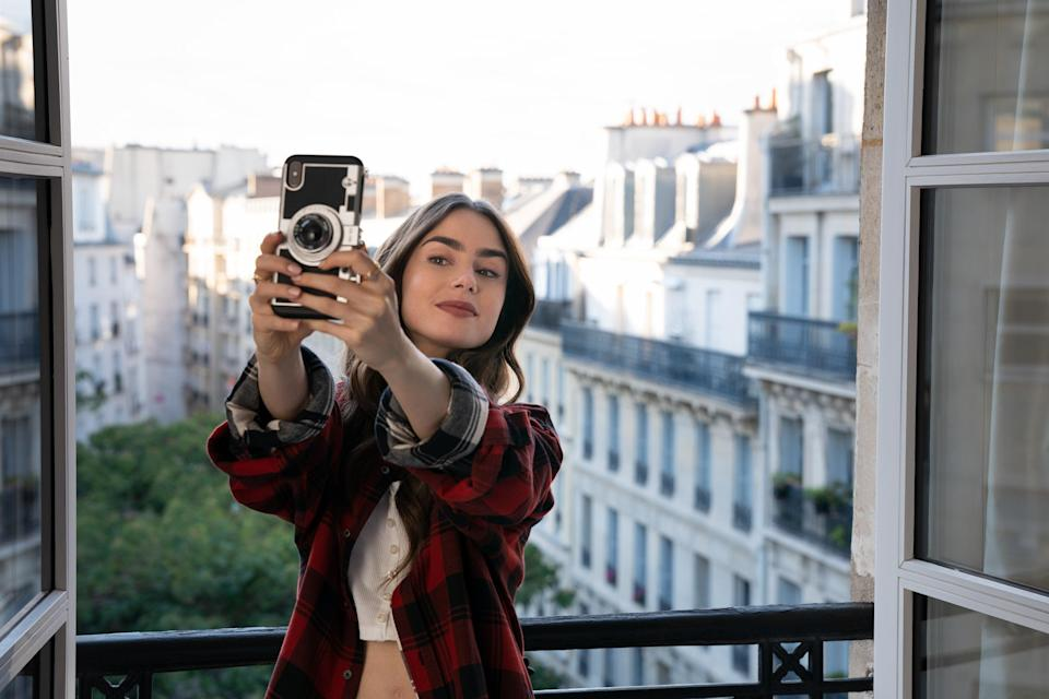 Lily Collins was nominated for a Golden Globe for 'Emily in Paris'Stephanie Branchu/Netflix