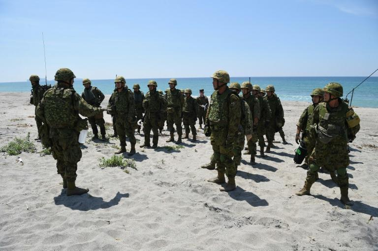 The Philippines held joint naval exercises with Japan near Scarborough Shoal in 2015