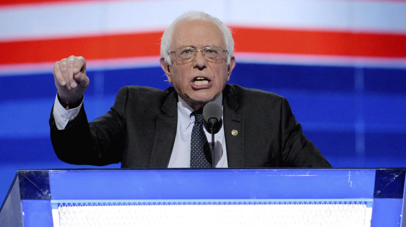 February 23rd 2020 - Bernie Sanders wins the 2020 Nevada Democratic Caucuses. - February 12th 2020 - Bernie Sanders wins the New Hampshire Democratic primary. - File Photo by: zz/Dennis Van Tine/STAR MAX/IPx 2016 7/25/16 Bernie Sanders at Day 1 of the Democratic National Convention in Philadelphia, PA.