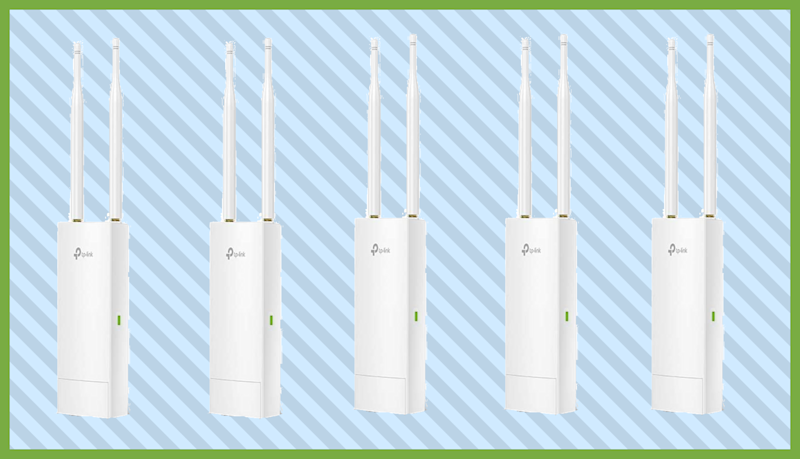 Finally get good WiFi outdoors for just $30. (Photo: TP-Link)