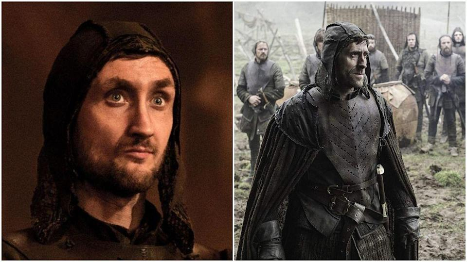 <p>Oh, you thought we were done with <em>Game of Thrones</em> recastings? Think! Again! The show replaced Tom Brooke with Daniel Tuite as Lothar Frey—even though Tom's face was definitely famous among the fandom thanks to the Red Wedding, where he killed Talisa Stark.</p>