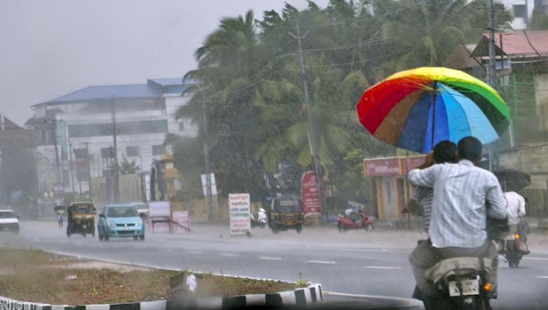 Rain Alert: Heavy Rainfall to Lash Parts of Karnataka, Tamil Nadu, Puducherry, Kerala This Week due to Low Pressure Area Over Bay of Bengal, Says IMD