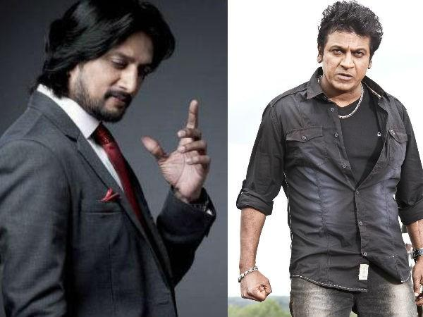 Sudeep and Shivaraj Kumar