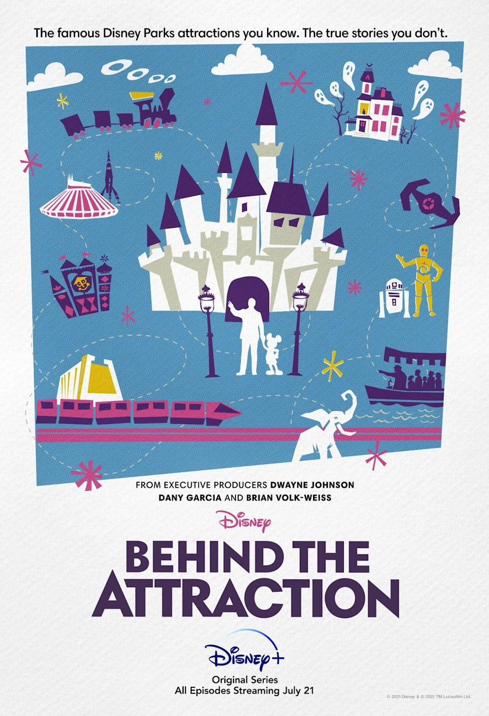 BEHIND THE ATTRACTION Trailer Teases Disney Parks Ride Secrets_1