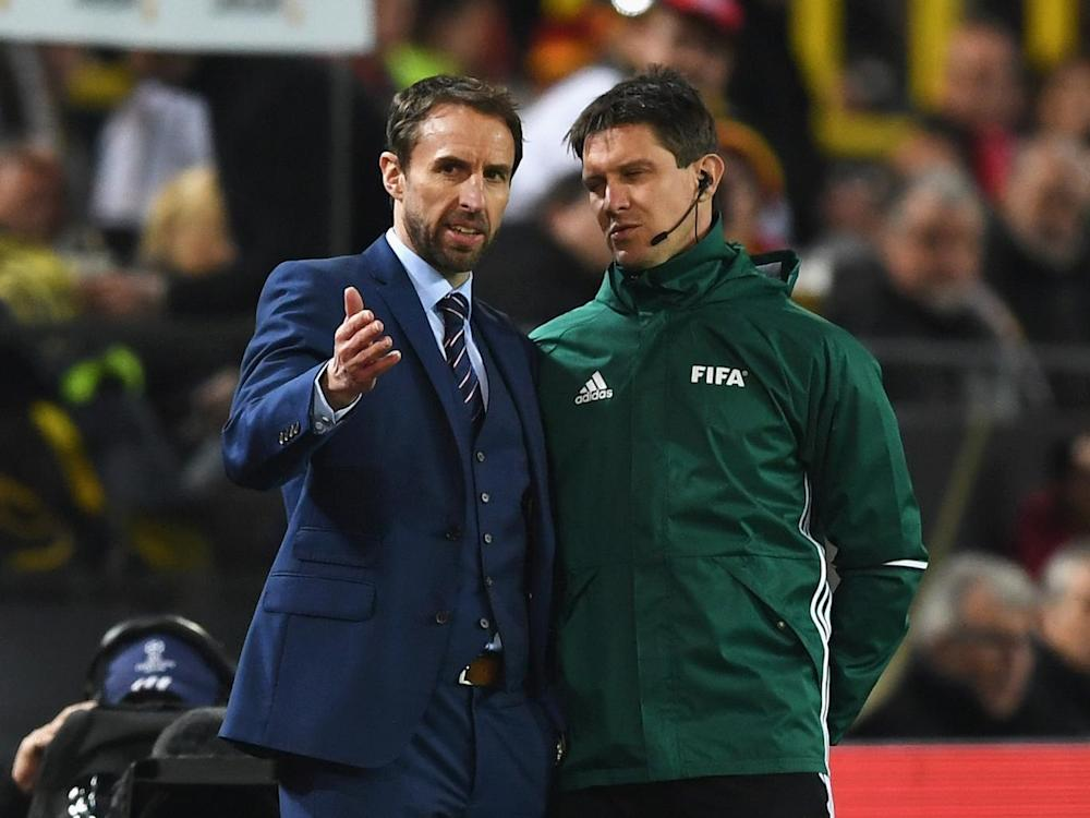 Southgate's side showed promise but ultimately went down to defeat (Getty)