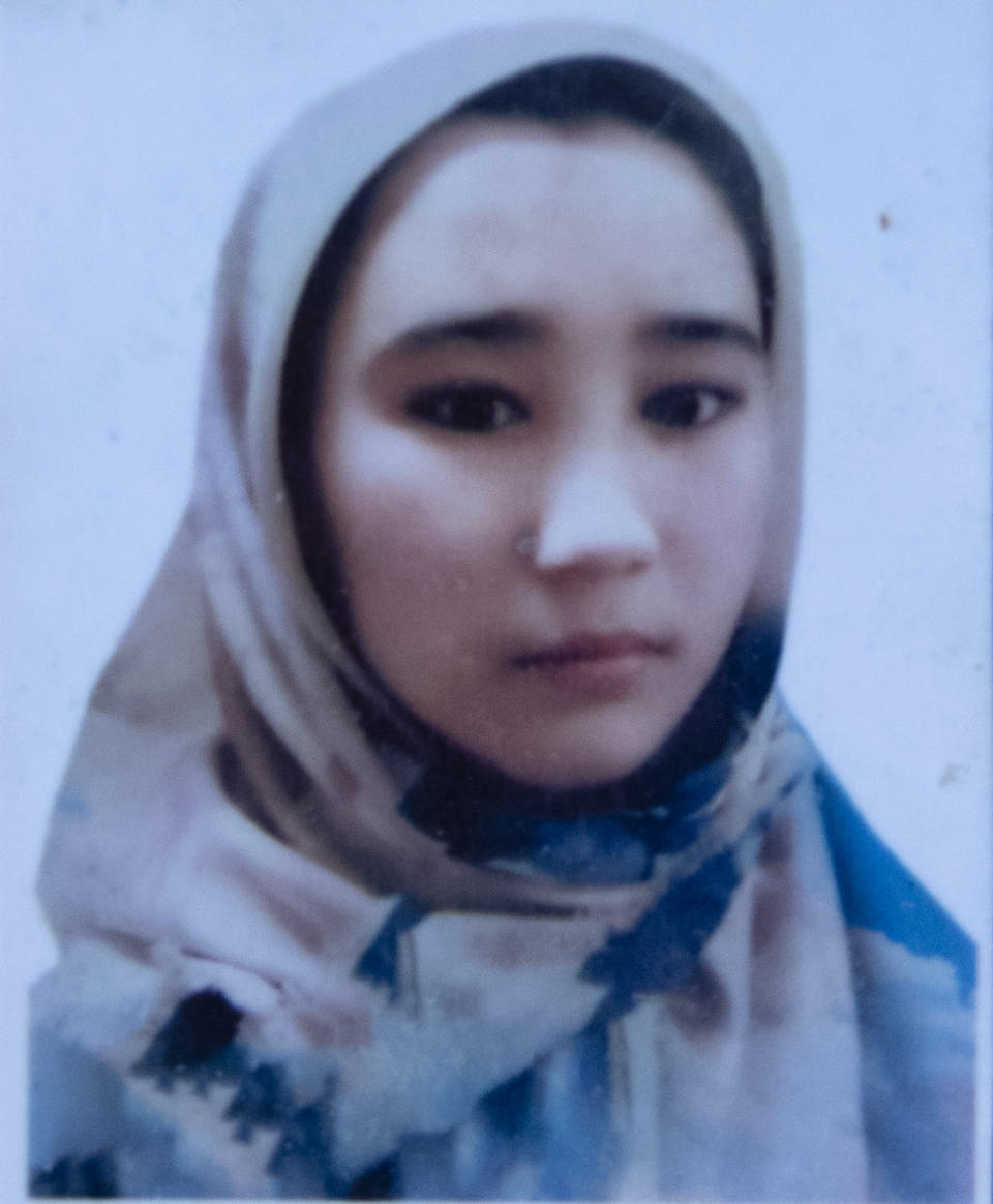 """This undated photo released by the family shows Arefa Hussaini who was among nearly 100 people killed in bombing attacks outside her school on May 8, 2021. Fourteen year old Arefa Hussaini had a slogan she lived by said her uncle Mohammad Salim: 'Where there is a will there is a way."""" She promised one day she would be a lawyer, but even as she studied she worked as a tailor to help support her family. (AP Photo)"""
