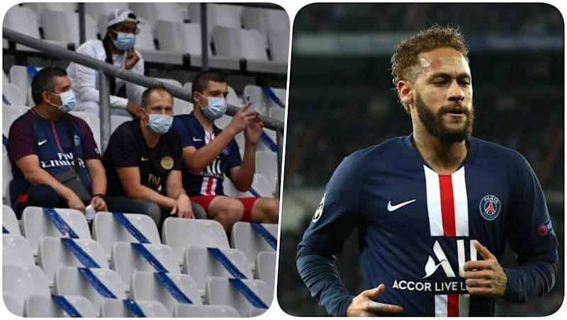 French Football Allows a Few Fans to Cheer for Teams in the Stadium for PSG vs Saint Etienne, French Cup Final 2019–20